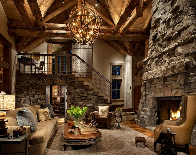 Rustic Style Living Room.Antique Rustic Living Room Ideas Royals Courage Very