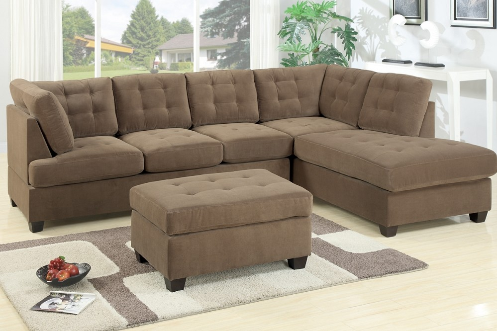 Brown Corduroy Sectional Sofa Royals