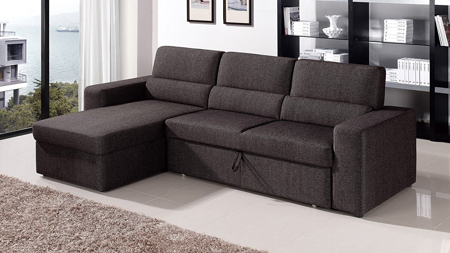 Clubber Convertible Sectional Sofa Bed | Royals Courage : Virtually ...