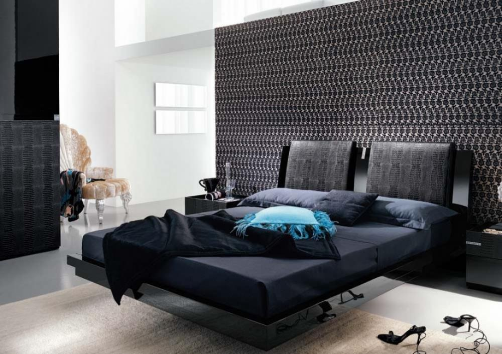 Contemporary Bedroom Furniture Black | Royals Courage ...