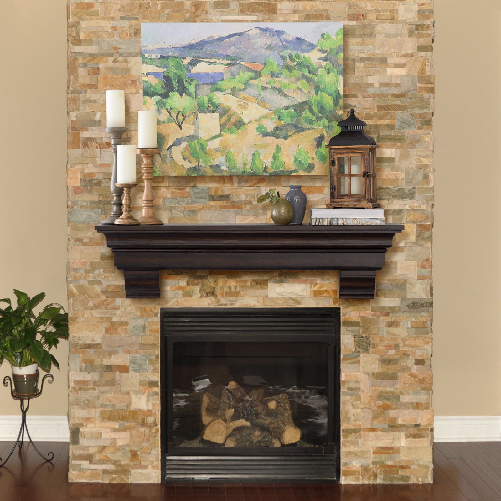 Fabulous Good Fireplace Mantel Shelf Royals Courage Putting In Home Interior And Landscaping Ologienasavecom