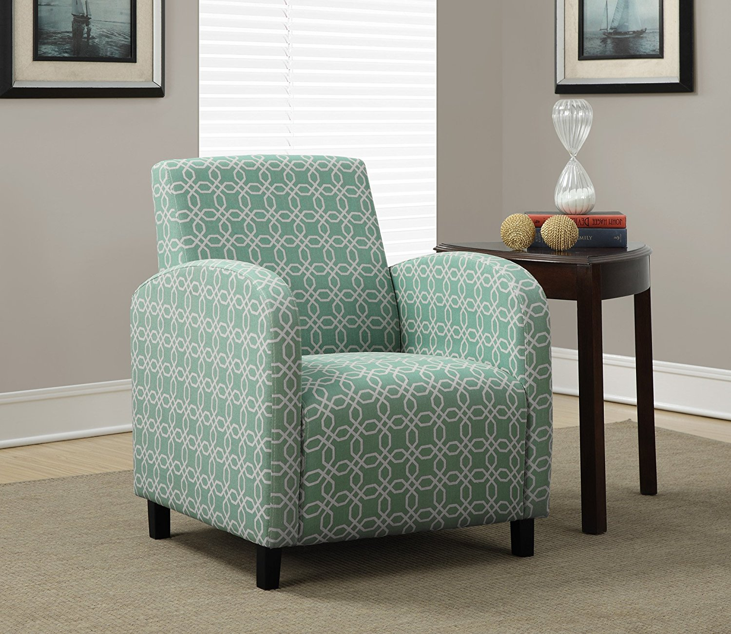 Good Teal Accent Chair Royals Courage
