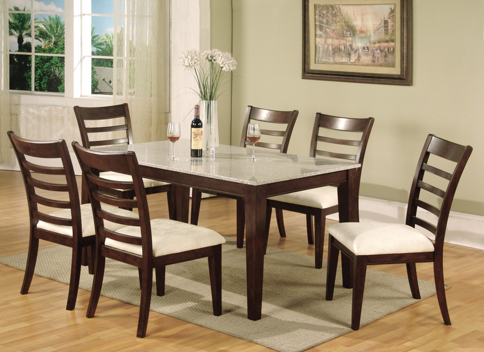 Granite Dining Table Ideas Royals Courage Granite Dining Table Type