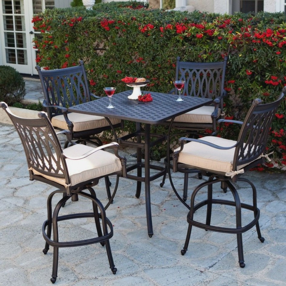 High Top Patio Table Set Cost Royals