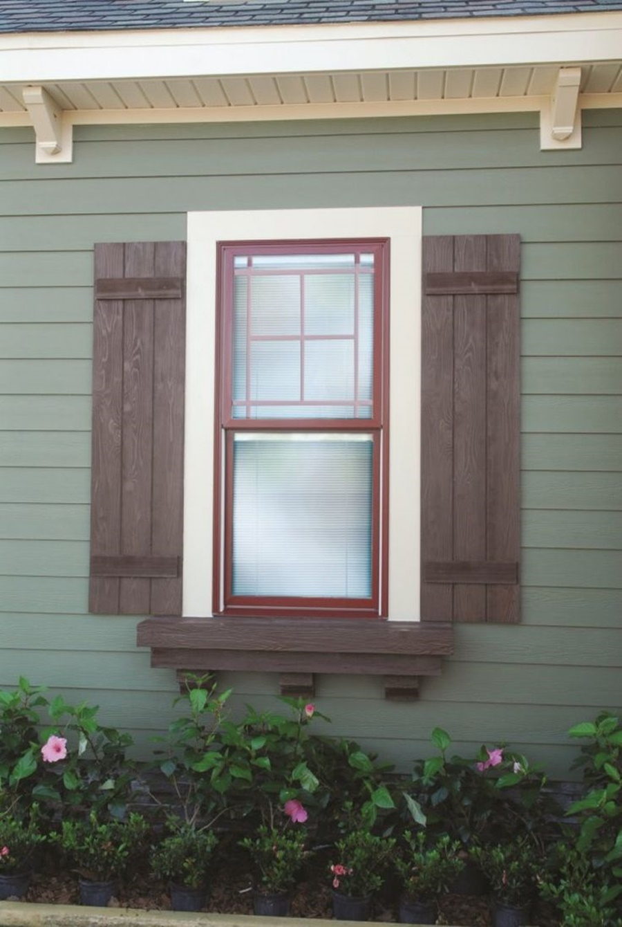 Rustic Window Shutters Exterior Royals Courage All About