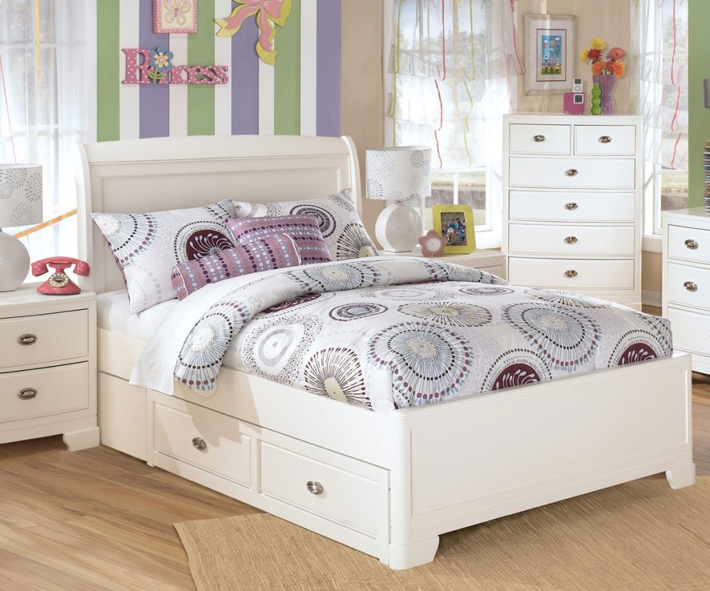 Kids Full Size Beds Girls Royals Courage Kids Full Size Beds