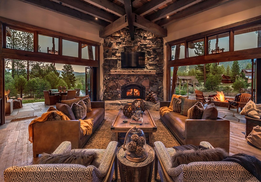 . Large Rustic Living Room Ideas   Royals Courage   Very