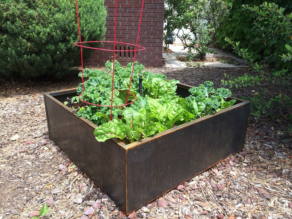 Outside Metal Planter Boxes For Highlighting The Panorama Royals
