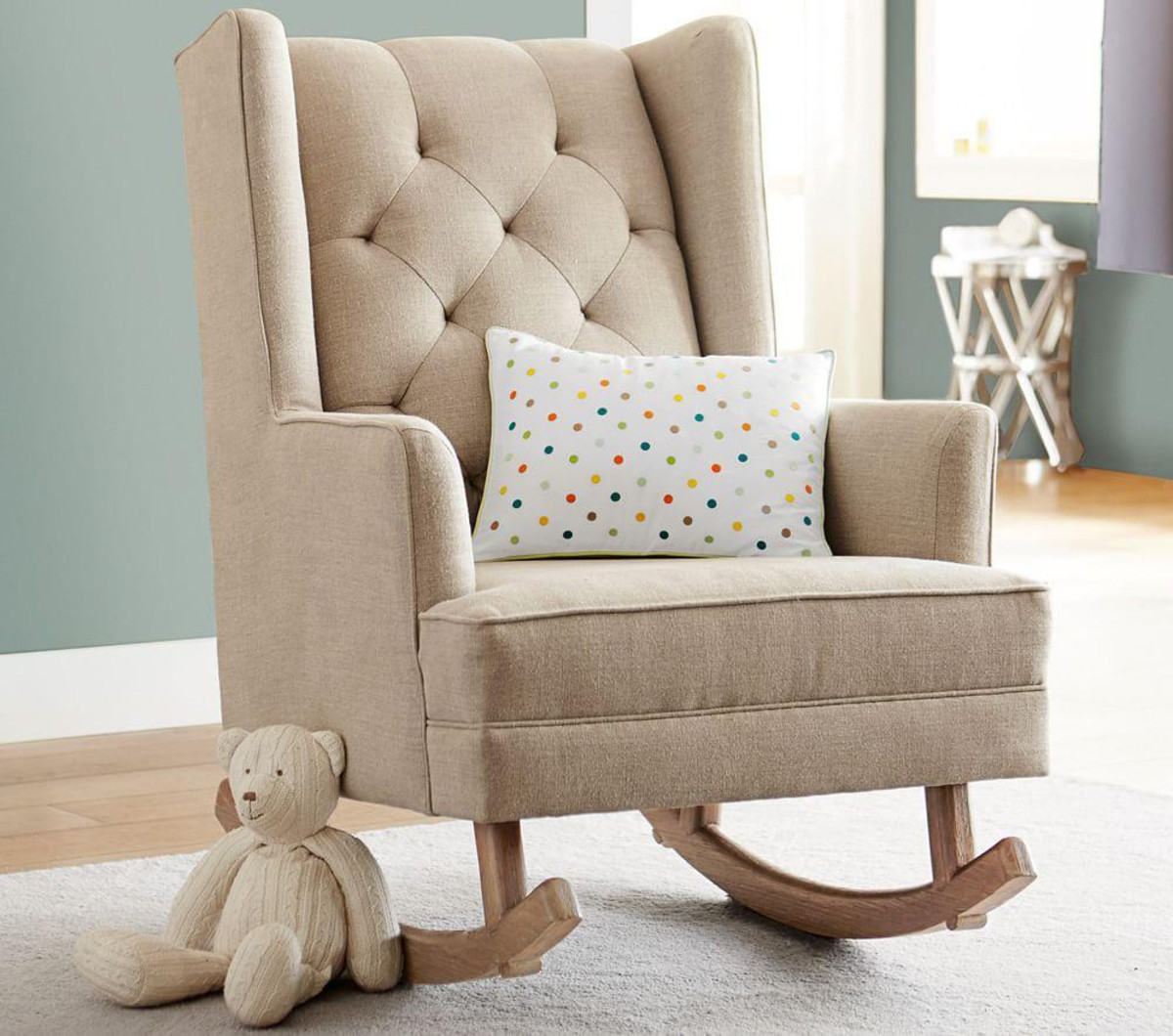 Perfect Modern Rocking Chair Nursery Royals Courage