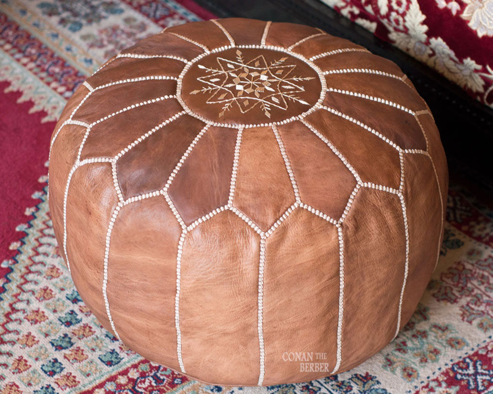 Brilliant Moroccan Pouf Ottoman Outdoor Royals Courage The Right Short Links Chair Design For Home Short Linksinfo