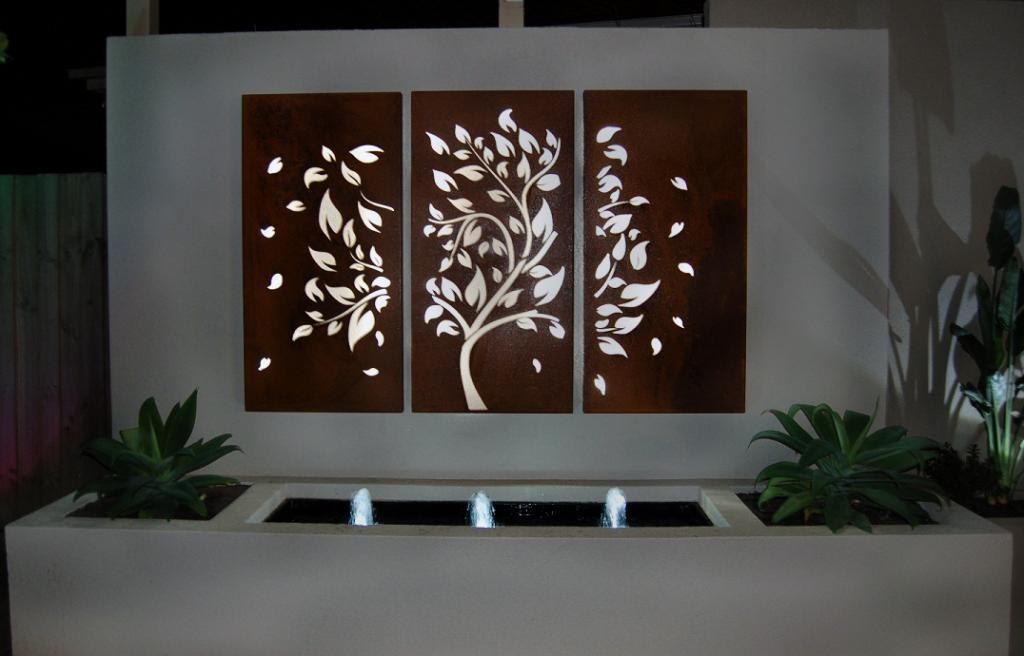 Outdoor Metal Wall Art Design Concepts Royals Courage