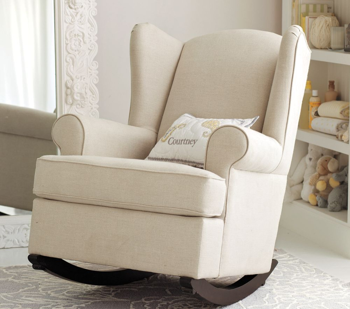 Nursery Rocking Chair With Arms