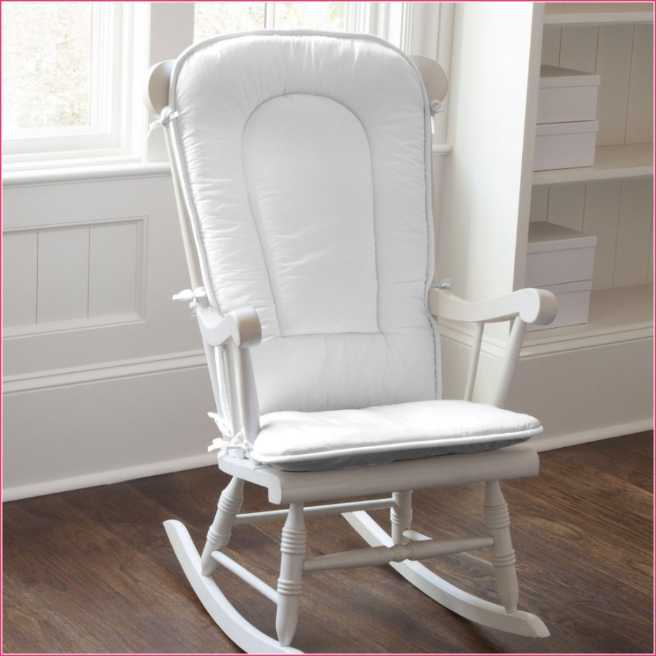 reputable site 85c31 2606d Nursery White Rocking Chair | Royals Courage : Lovely And ...