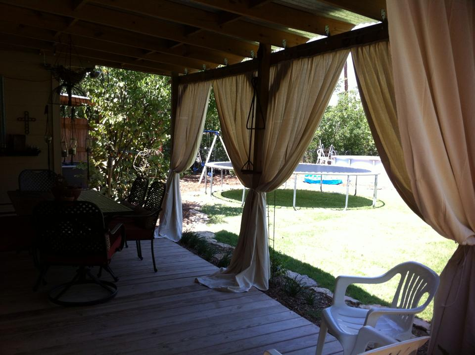 Outdoor Patio Curtains Style Royals
