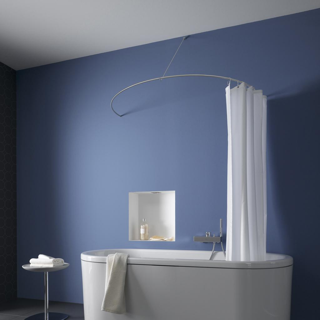 Oval Shower Curtain Rod Inspiration Royals Courage Ideas