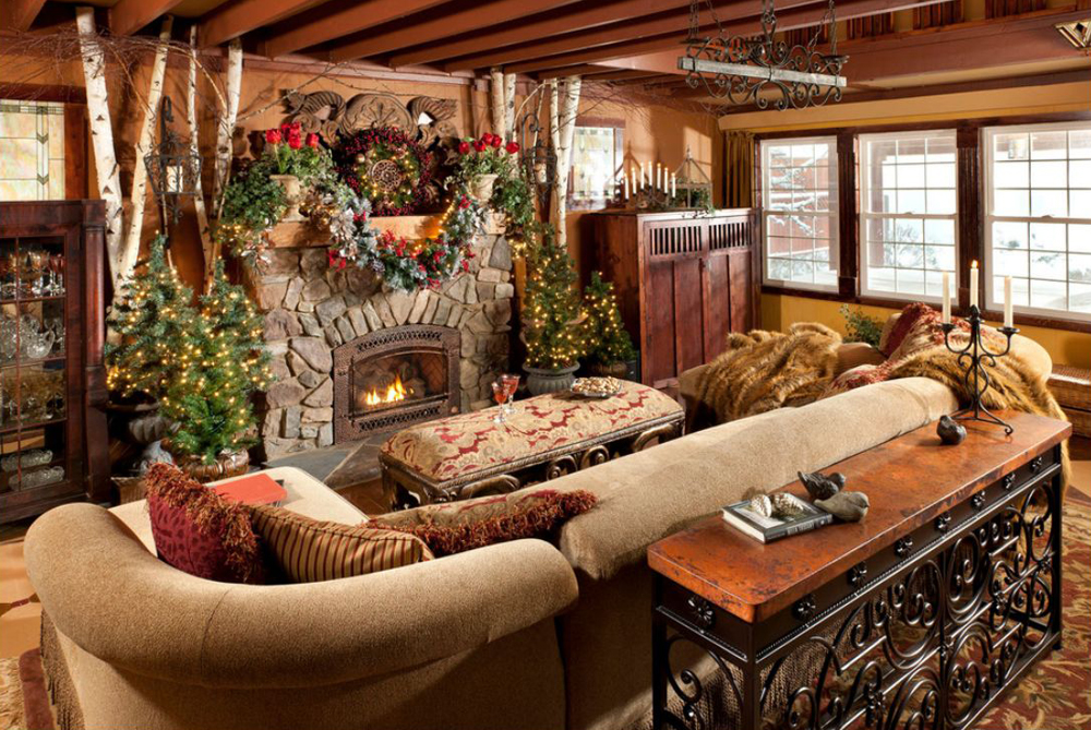 Rustic Cabin Decor Plan Royals