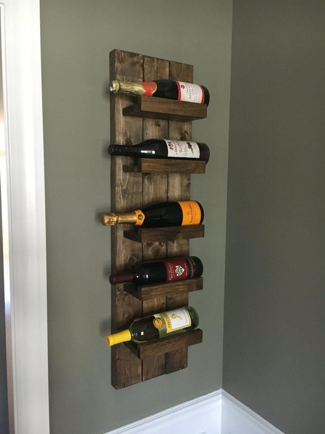 Wine Racks Wall Mounted Do It Your Self Royals Courage