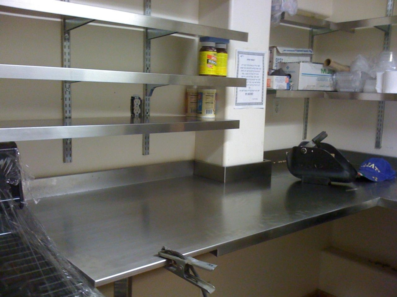 Stainless Steel Shelves Diy Royals Courage Stainless