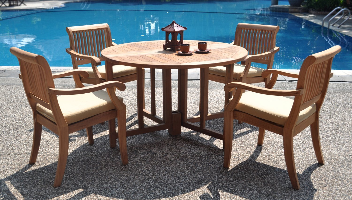 Teak Patio Furniture Treatment Royals Courage Restore Weathered