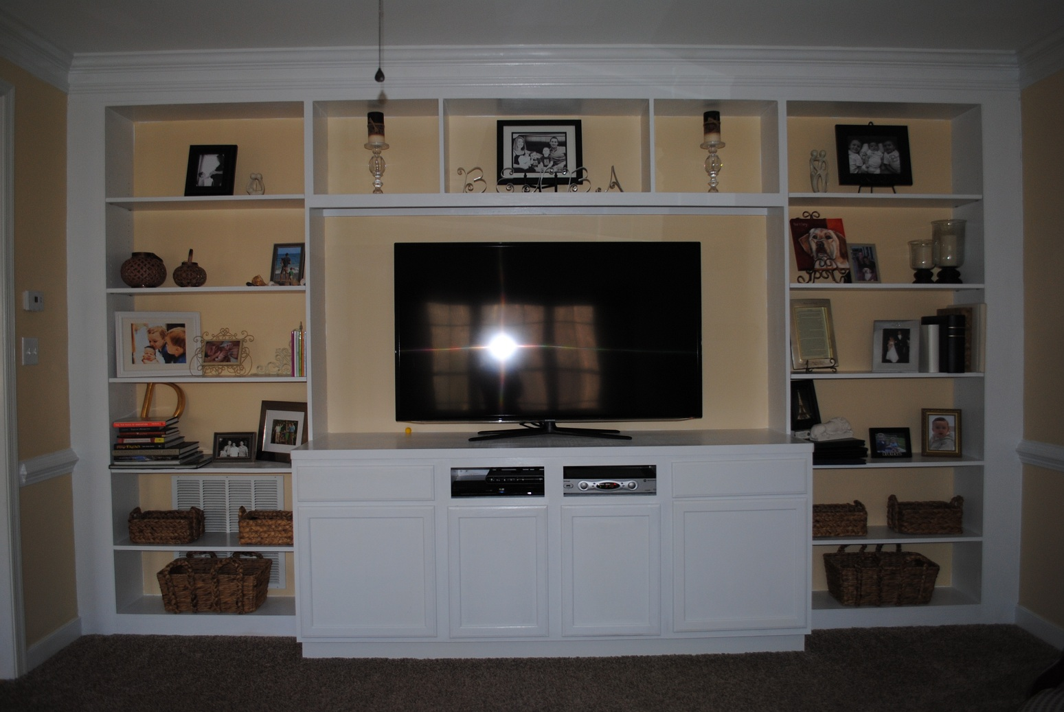 Nice Concepts For Putting In Cherry Entertainment Center