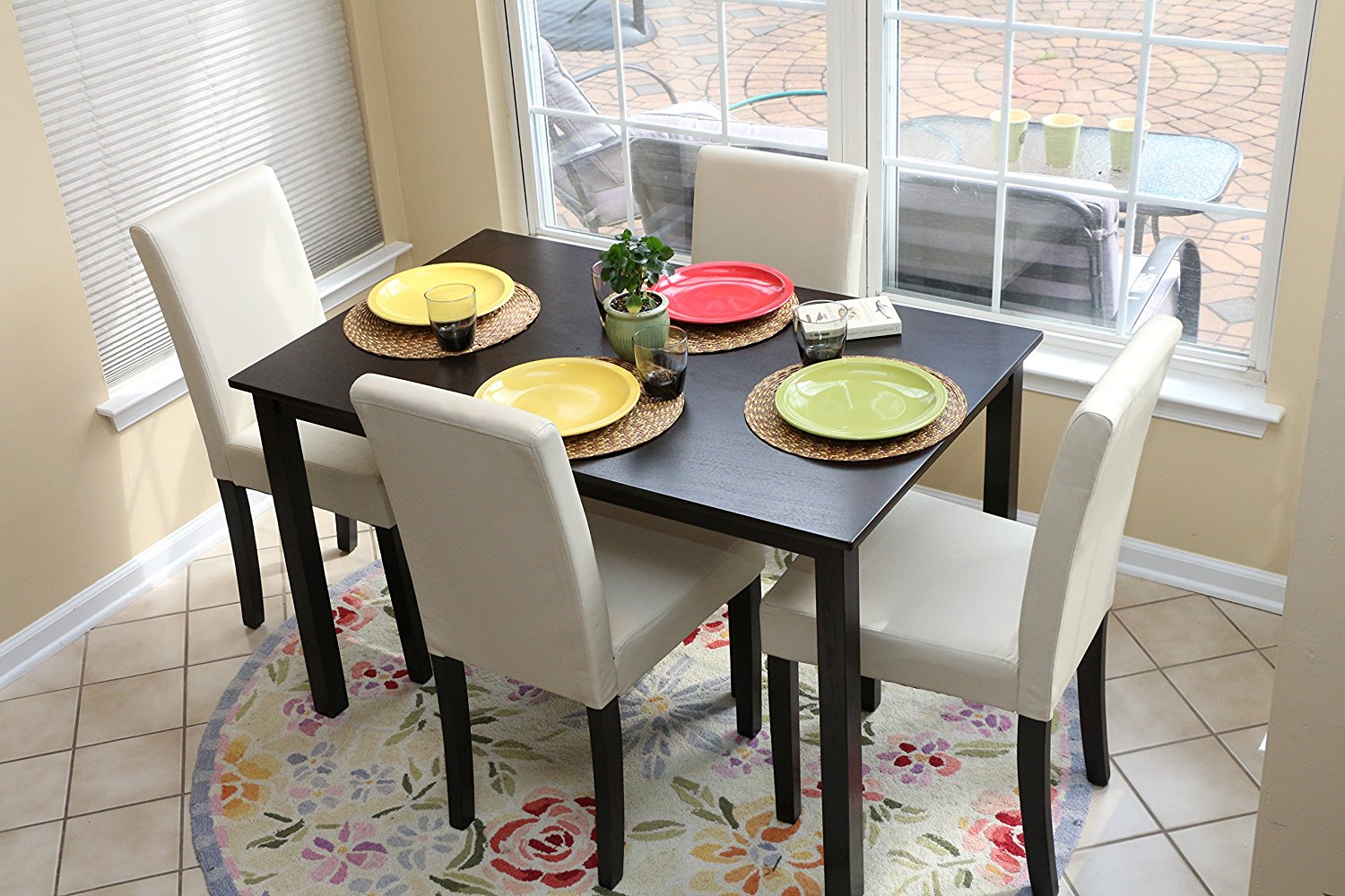 Wood Small Dining Table Set Royals