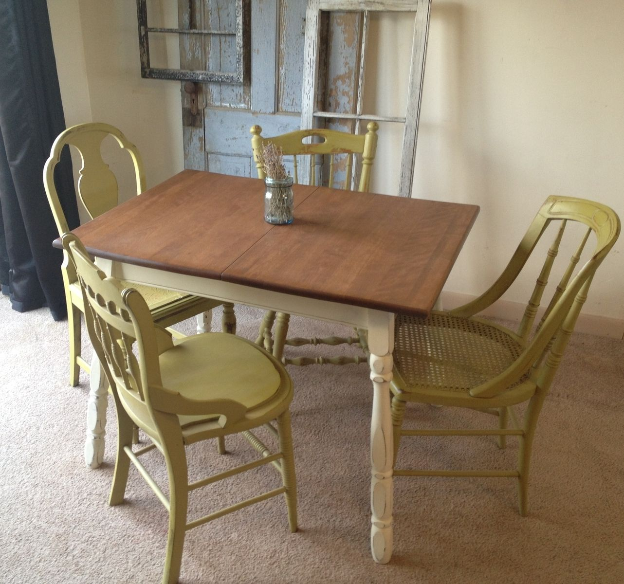 Cleansing Antique Kitchen Tables