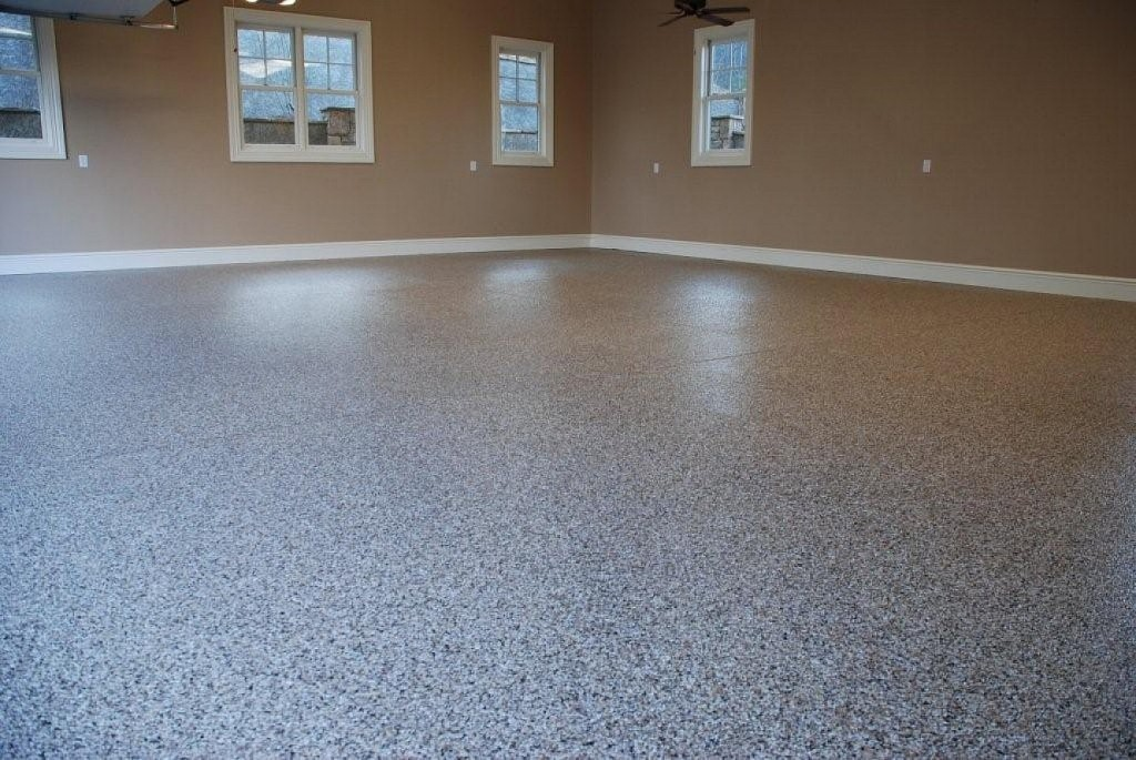 Good Look Of Polished And Painted Concrete Floors Royals Courage