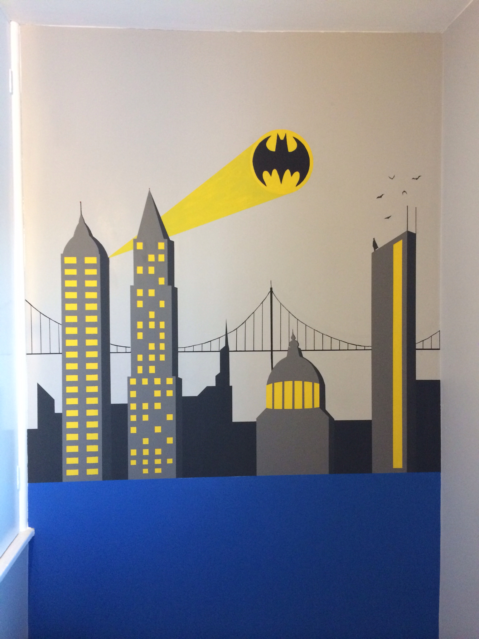 Batman Room Decor Walmart | Royals Courage : Artistic And ...