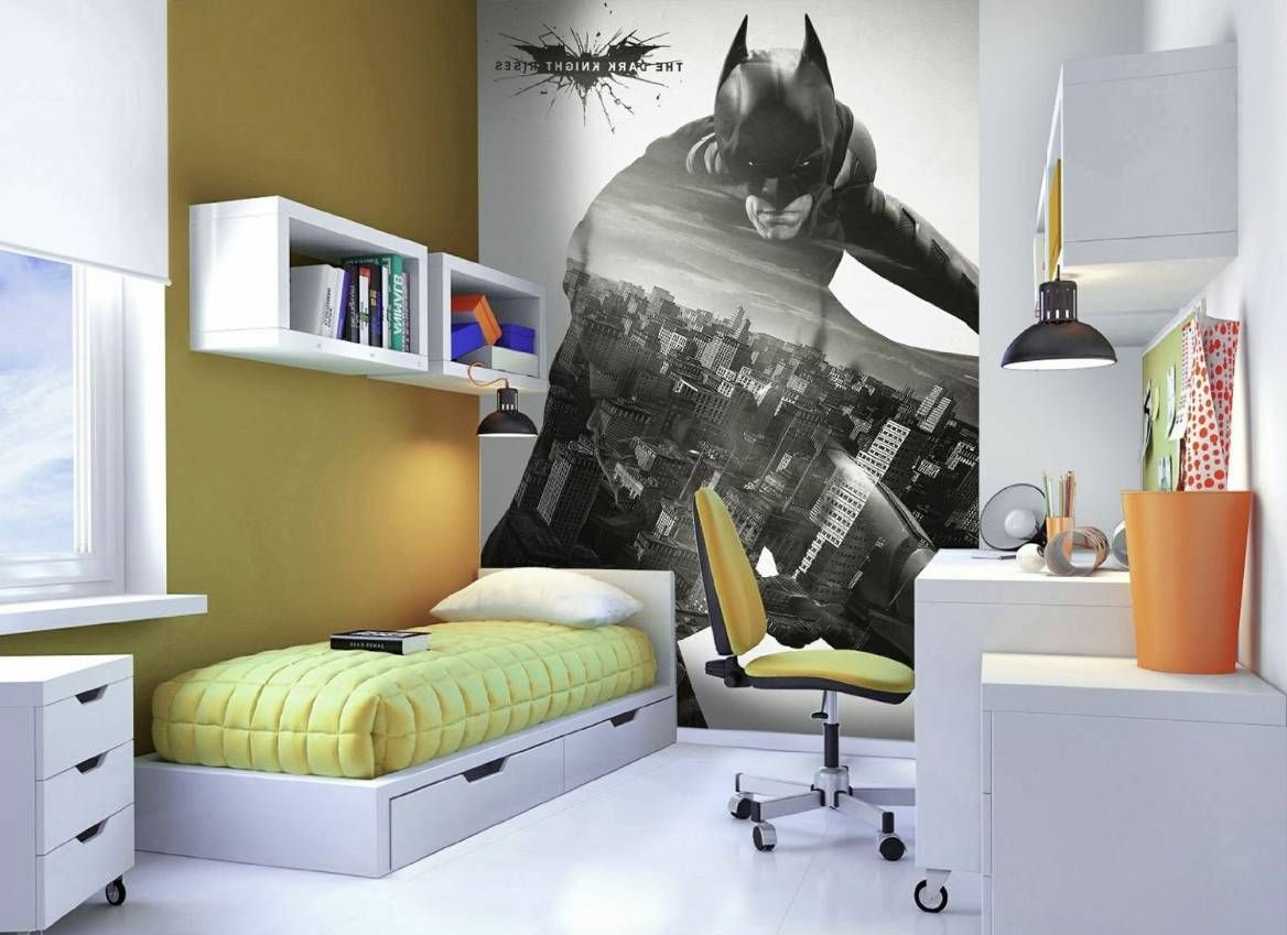 Batman Room Wallpaper Royals Courage
