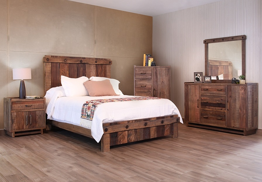 Comfortable And Easy Rustic Bedroom Furniture Units Royals Courage
