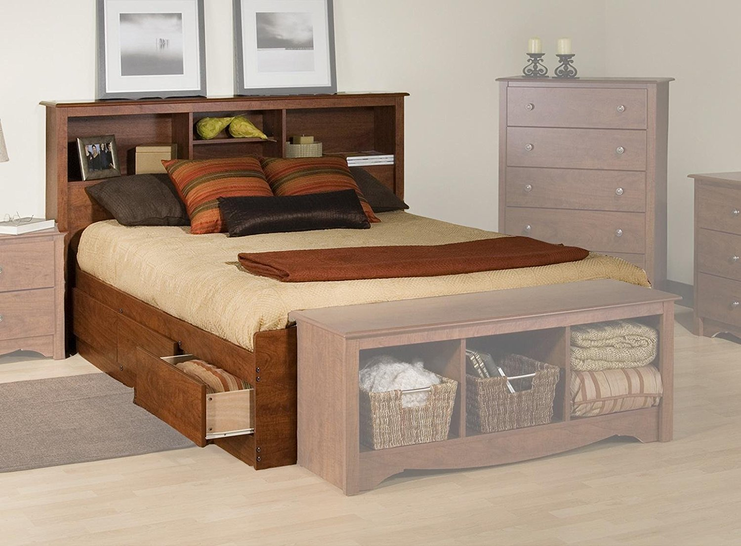 Beds With Storage Drawers Idea Royals