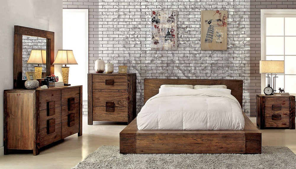 Cheap Rustic Bedroom Furniture Royals Courage Comfortable And