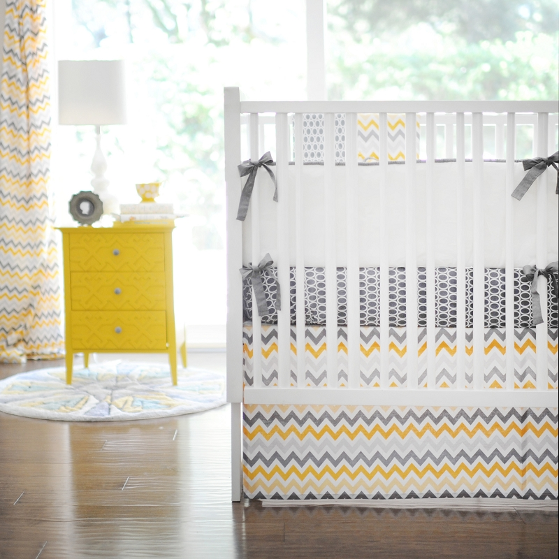 Chevron Baby Bedding Royals Courage
