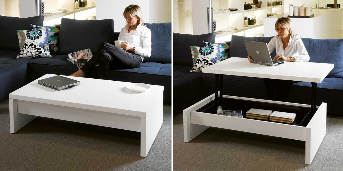 Enticing And Useful Convertible Coffee Table Royals Courage