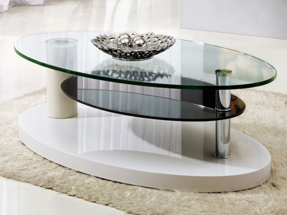 Excellent Modern Gl Coffee Table