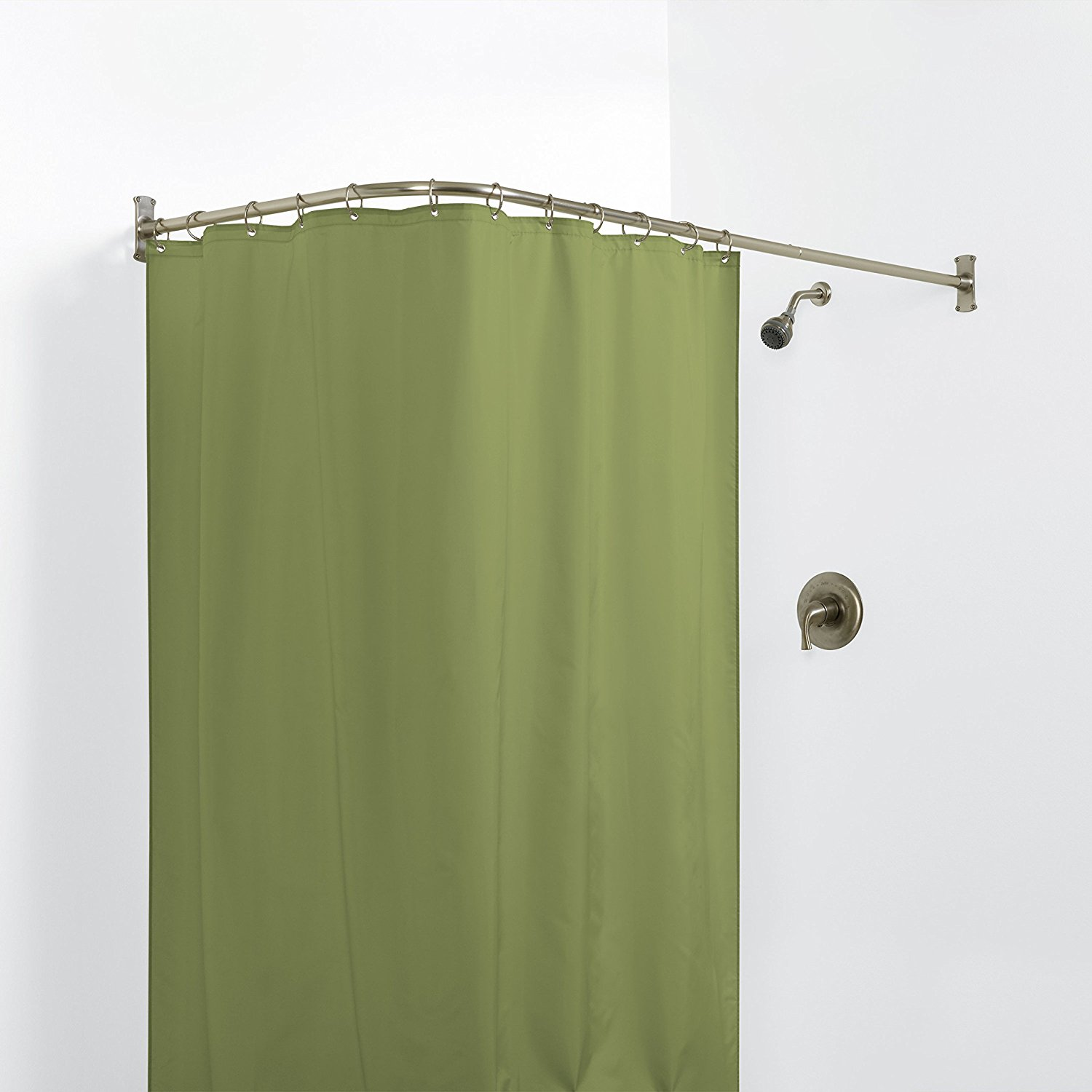 Key Concepts For Perfect Corner Shower Curtain Rod Royals