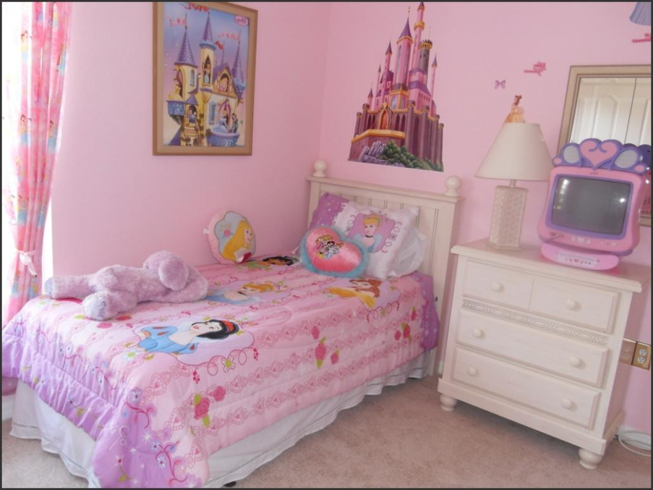 Disney Little Girl Bedroom Decor