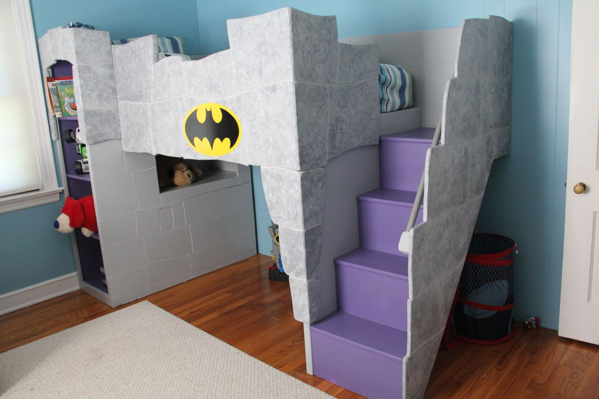 Diy Batman Room Decor Royals Courage