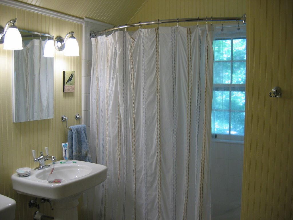 Diy Corner Shower Curtain Rod Royals Courage L Shaped