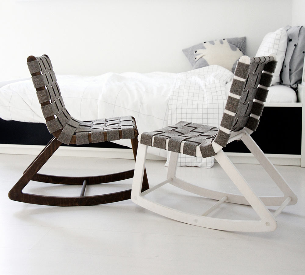 Comfy And Lovely Rocking Chair Plans