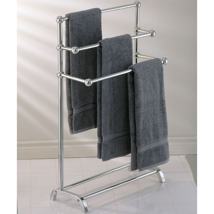 Free Standing Towel Rack Stair Royals