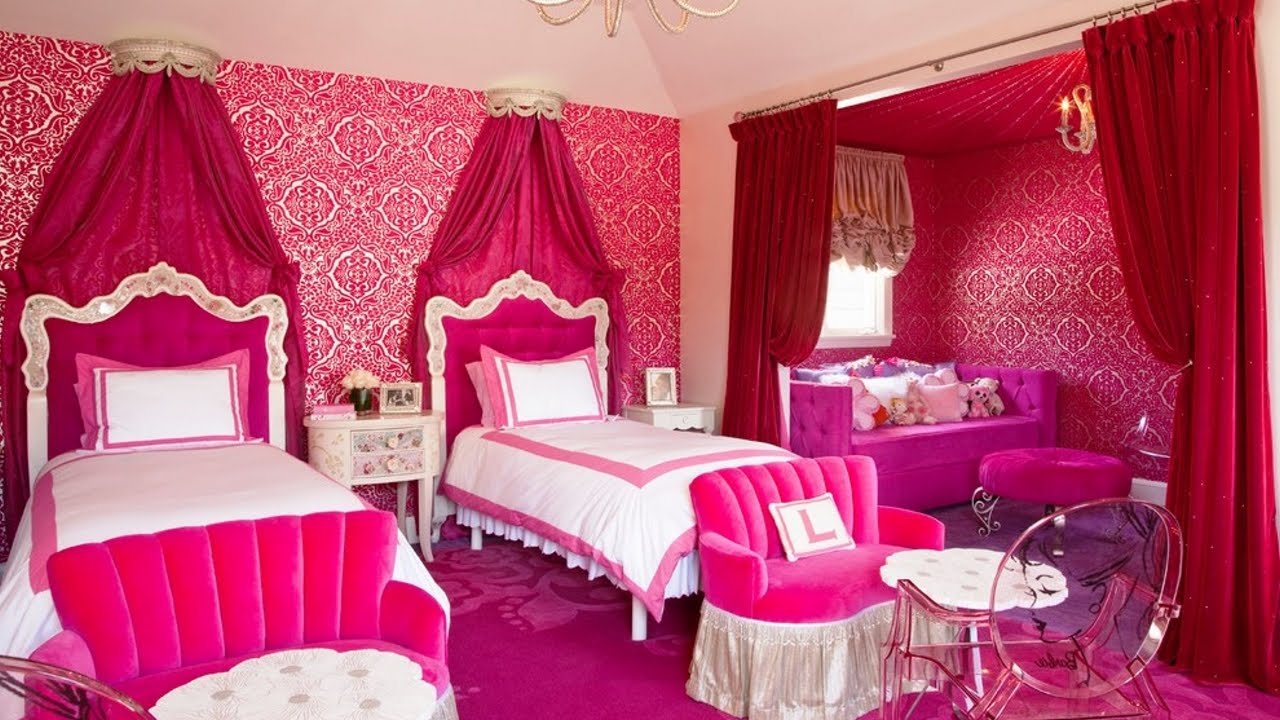 Girls\' Bedroom Paint Ideas | Royals Courage : Little Girls ...
