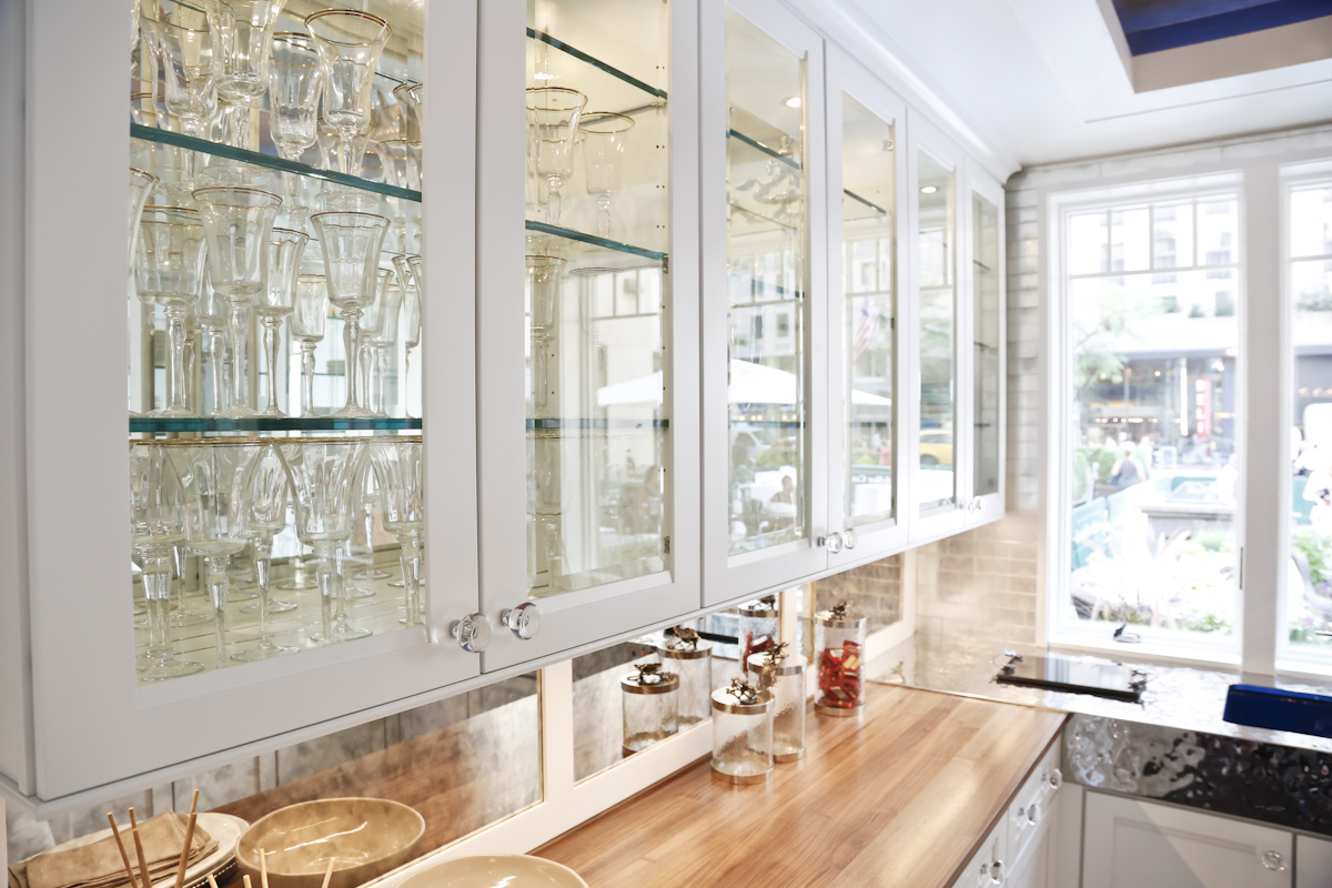 unfinished cabinet doors with glass