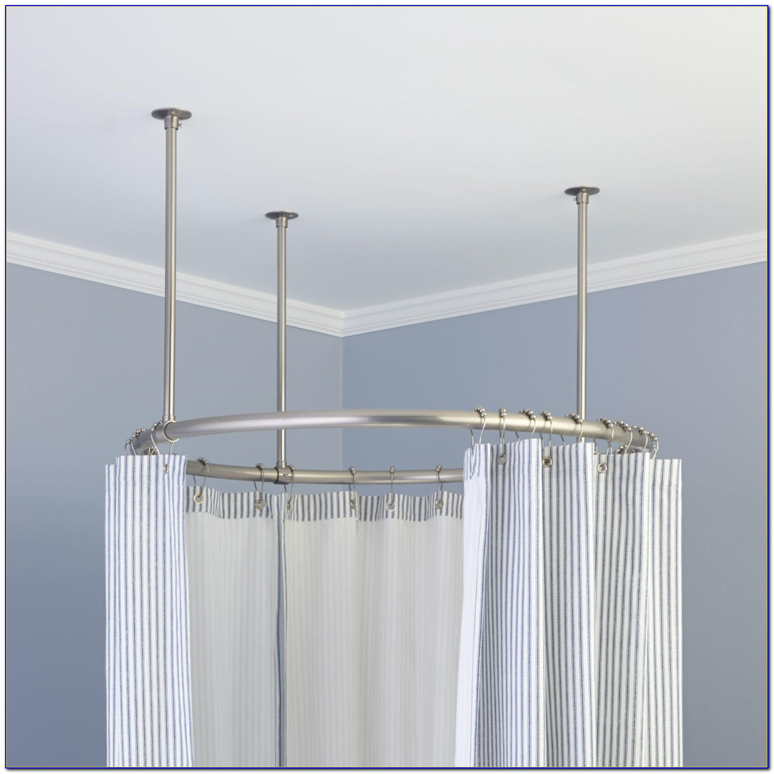 Ceiling Curtain Rod Royals Courage Key Concepts For