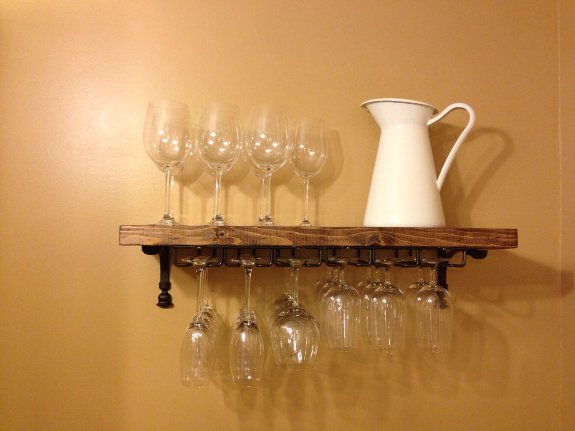 Hanging Wine Gl Rack Ikea Royals