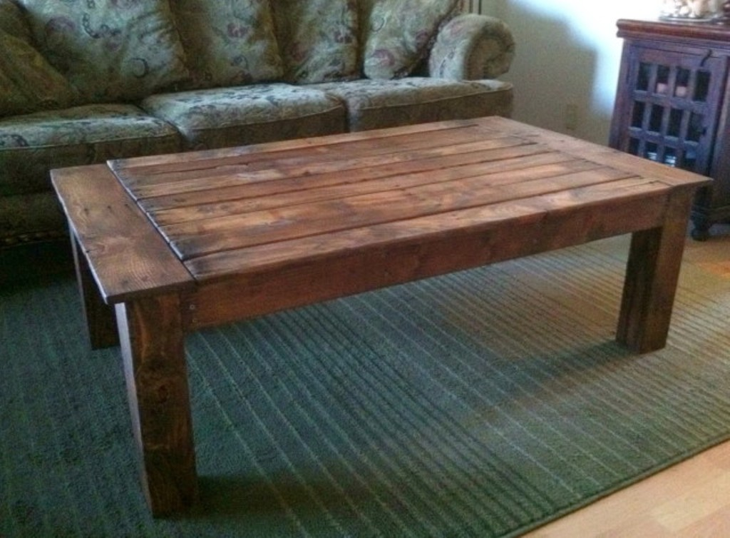 Rustic Square Wood Coffee Table For Stylish Concepts