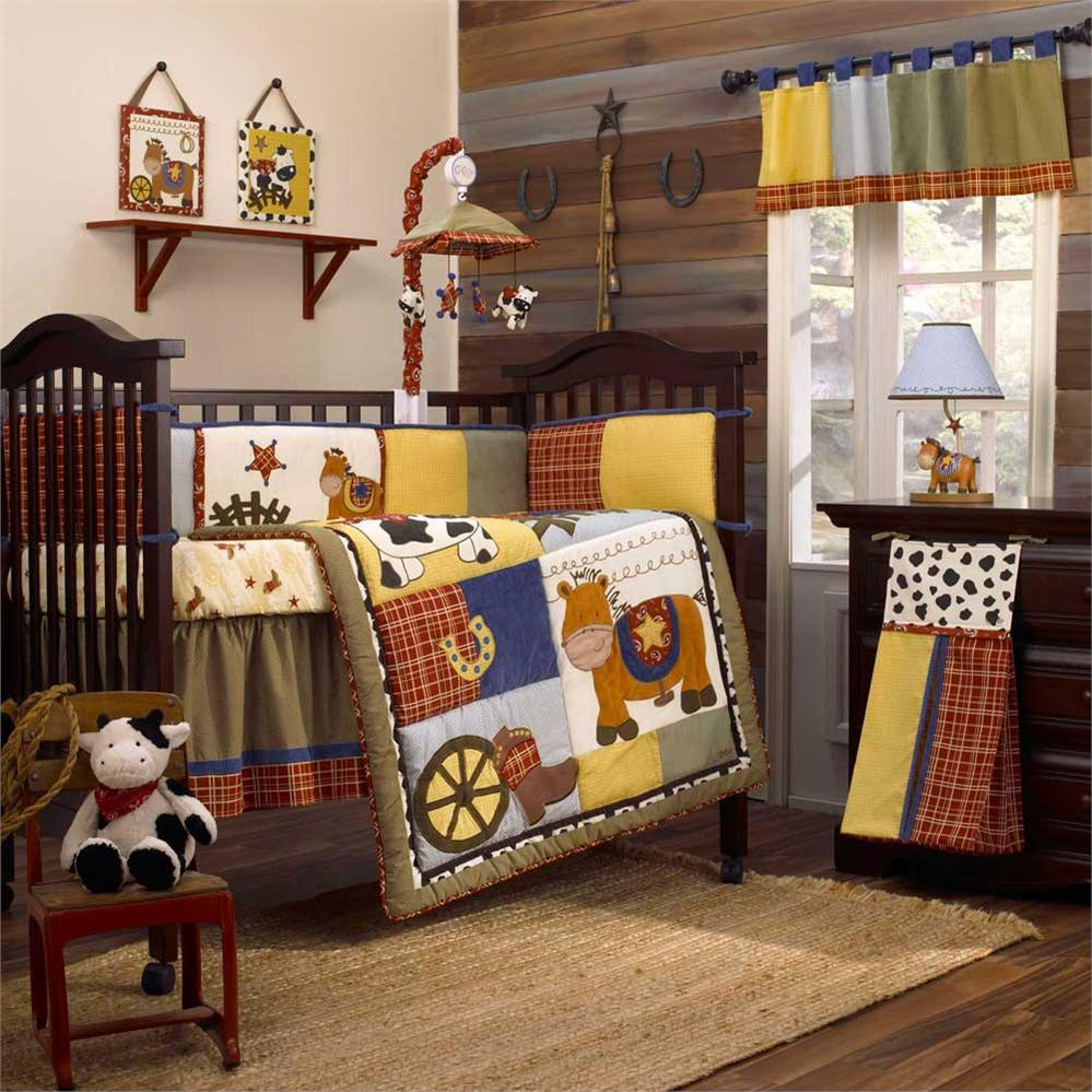 Horse Crib Bedding Royals Courage Discover Cowboy Baby