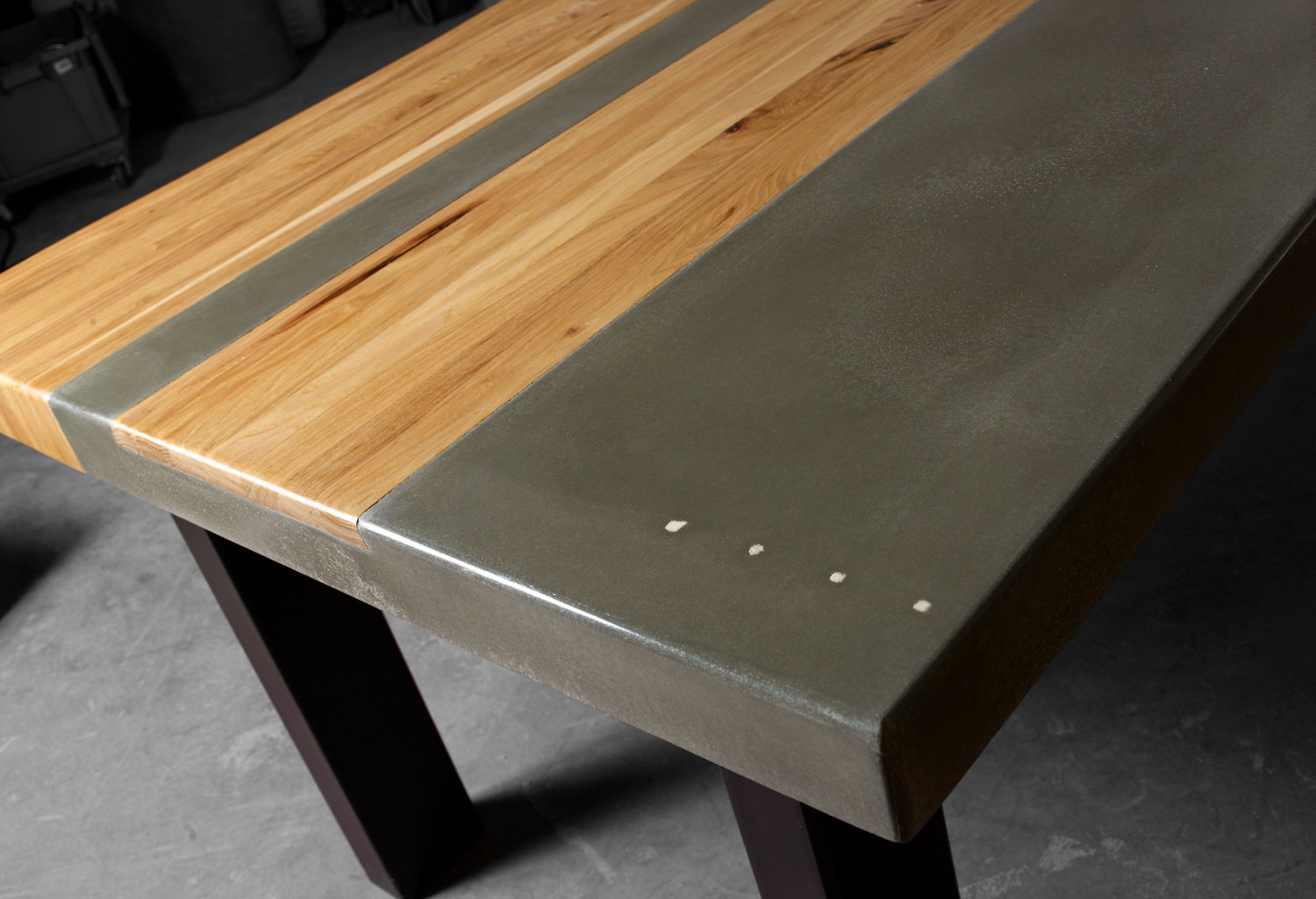 Remarkable How To Make Concrete Table With Wood Inlay Royals Courage Spiritservingveterans Wood Chair Design Ideas Spiritservingveteransorg