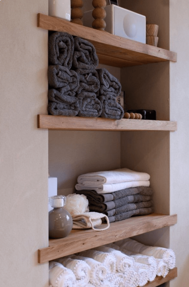 24 Fascinating Towel Storage Options Royals Courage