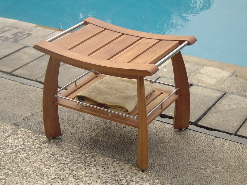 Tremendous Teak Corner Shower Bench Design Royals Courage Download Free Architecture Designs Grimeyleaguecom